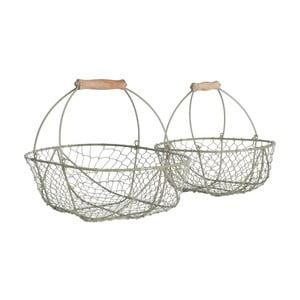 Zestaw metalowych koszyków Wirework, 2 szt.
