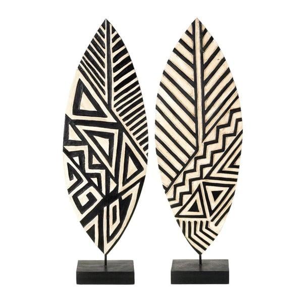 Zestaw 2 dekoracji Makola Leaf