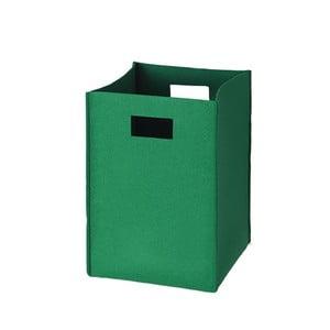 Filcowe pudełko 36x25 cm, zielone