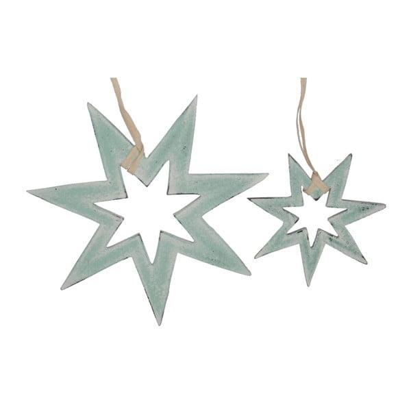 Zestaw 2 wiszących dekoracji Hanging Stars