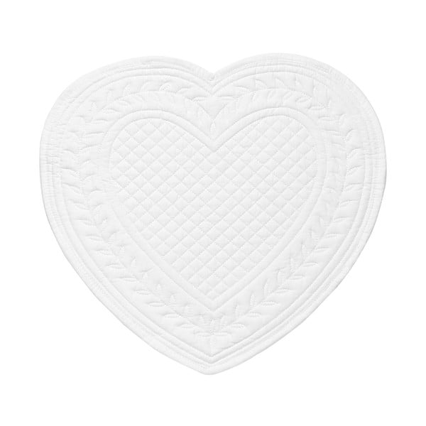 Zestaw 6 podkładek Pure Heart, 30 cm