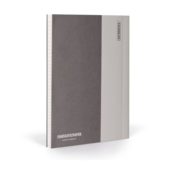 Notes FANTASTICPAPER XL Stone/Warm Grey, w linie