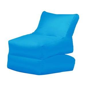 Turkusowy leżak składany Sit and Chill Lato