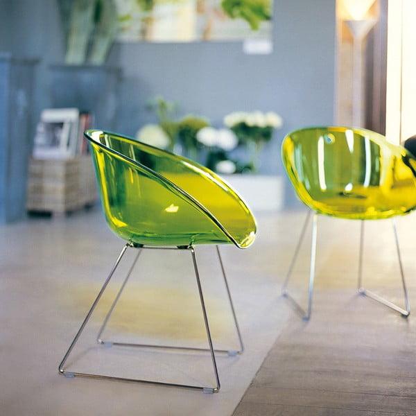 Krzesło Gliss 921, zielone