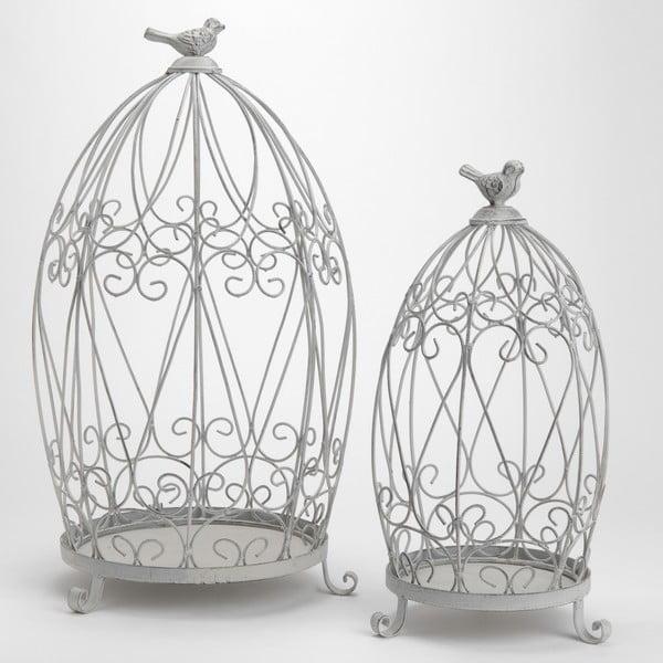 Komplet 2 klatek dekoracyjnych Cage Shelf