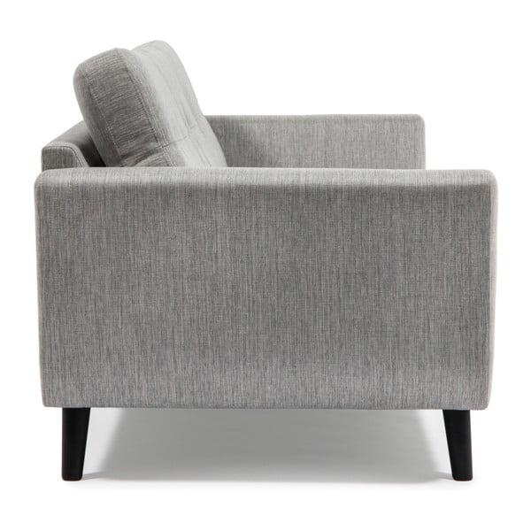 Szara sofa 2-osobowa Vivonita Harlem