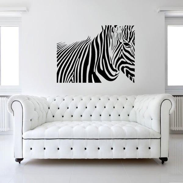 Naklejka ścienna Zebra, 120x90 cm