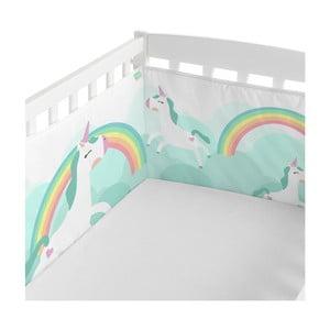 Ochraniacz do łóżeczka Happynois Rainbow, 210x40 cm