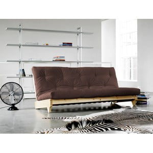 Sofa rozkładana Karup Fresh Raw/Brown