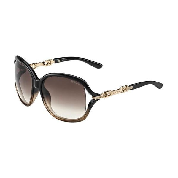 Okulary przeciwsłoneczne Jimmy Choo Loop Rose Gold/Brown
