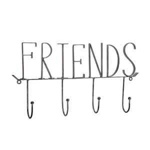 Metalowe wieszaki Friends