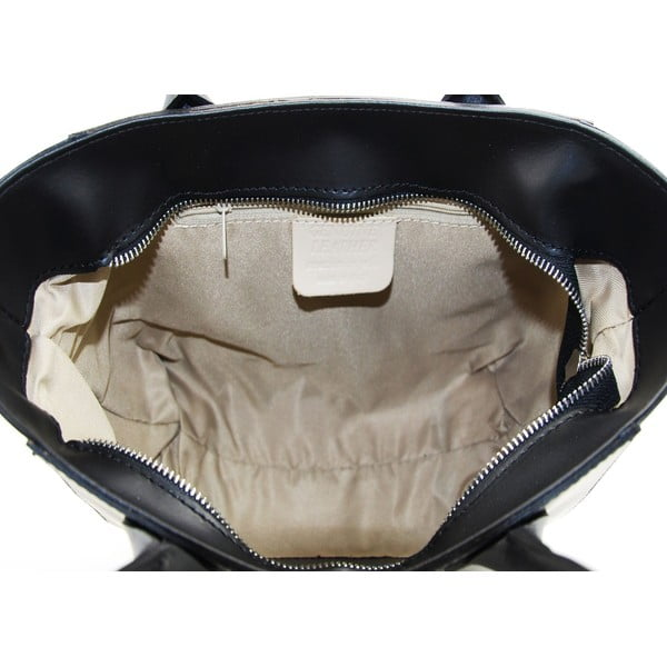 Skórzana torebka Filena Nero
