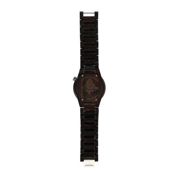 Drewniany zegarek Alpha Black