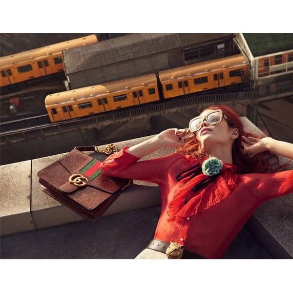 Damskie okulary przeciwsłoneczne Gucci 3675/S 4WJ