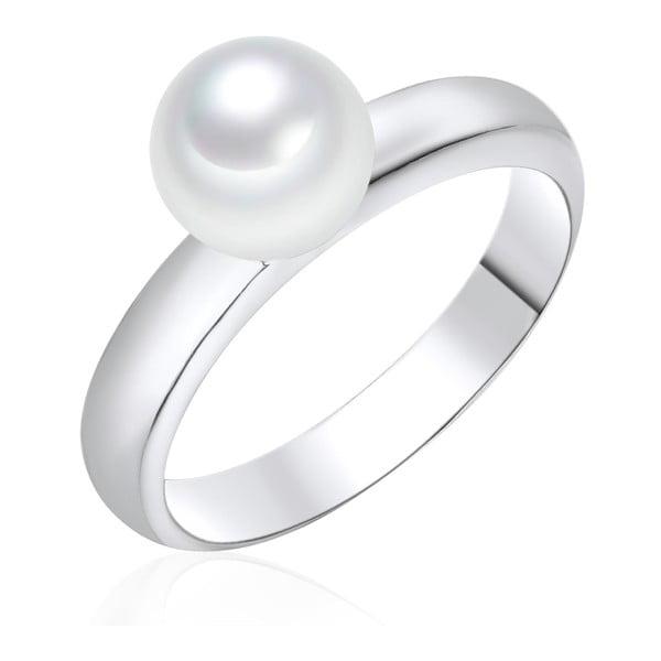 Pierścionek   z perłą Pearls Of London Sea Shell White, 3,4 cm