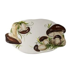 Talerz owalny Mushrooms