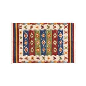 Dywan ręcznie tkany Kilim Dalush 008, 90x60 cm