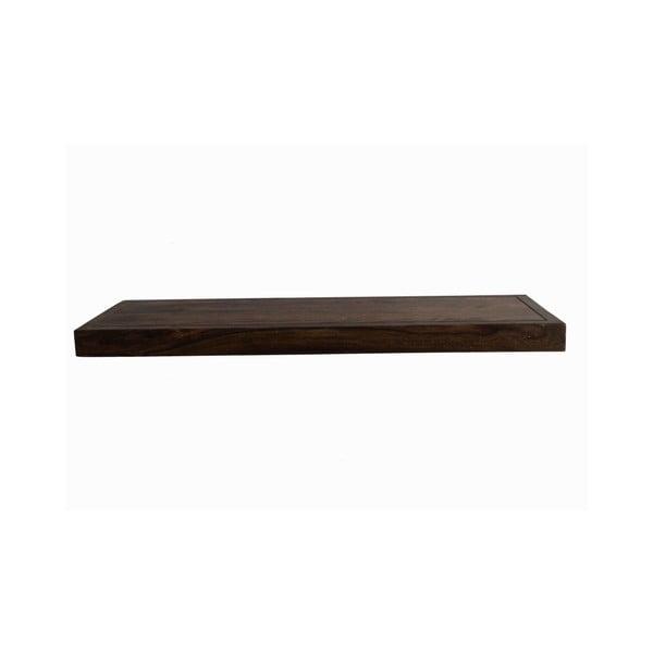 Półka z palisandru Indigodecor, 88 cm