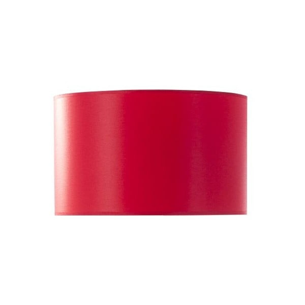 Abażur Big Cylindrical Red