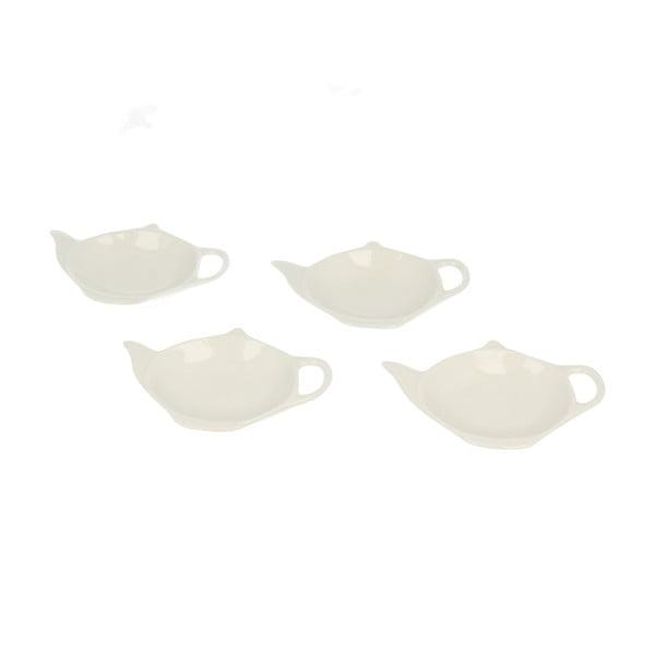 Zestaw 4 podstawek pod torebkę herbaty Teabag