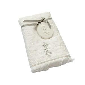 Ręcznik z inicjałem I, 50x90 cm