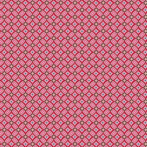 Tapeta Pip Studio Geometric, 0,52x10 m, czerwona