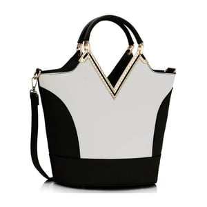 Torebka L&S Vanity Black & White