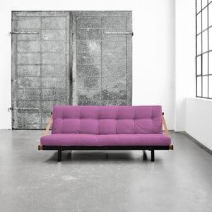 Wielofunkcyjna sofa Karup Jump Black/Taffy Pink
