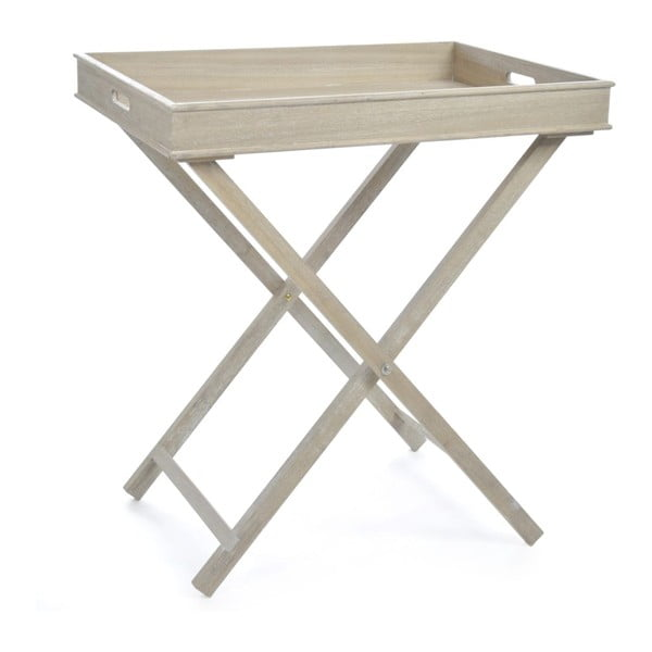 Stolik Butlertray Natural, 71x51x77 cm