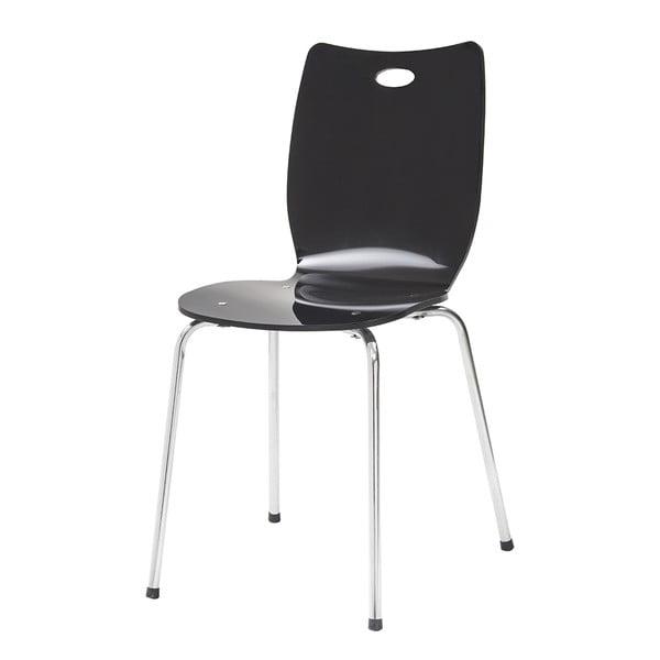 Krzesło Terry, czarne