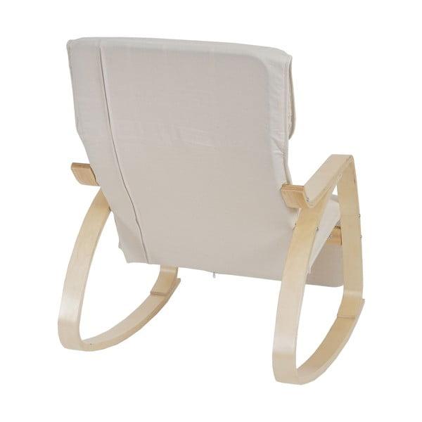 Fotel bujany Vaasa, naturalny