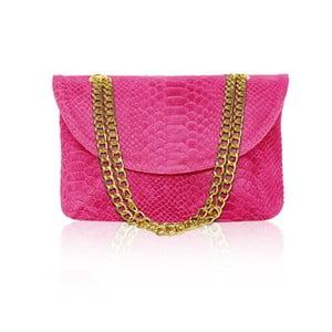 Skórzana torebka Gaia, różowa