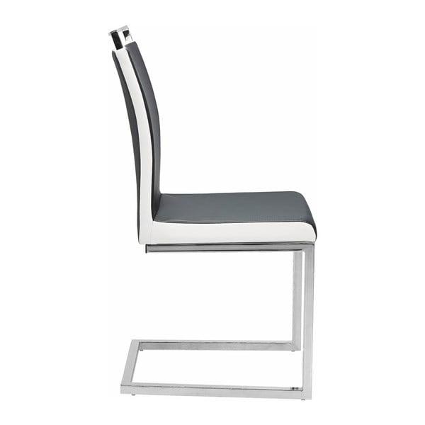 Zestaw 2 czarnych krzeseł Støraa Stark