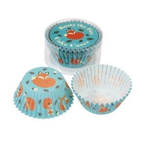 Zestaw 50 papilotek do muffinów Rex London Rusty The Fox