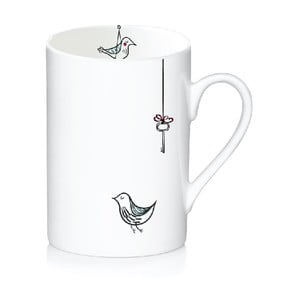 Porcelanowy kubek Bird, 300 ml
