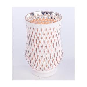 Świecznik Glass Candle 23 cm, biały