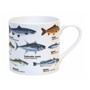 Kubek Gift Republic Multi Fish Blue