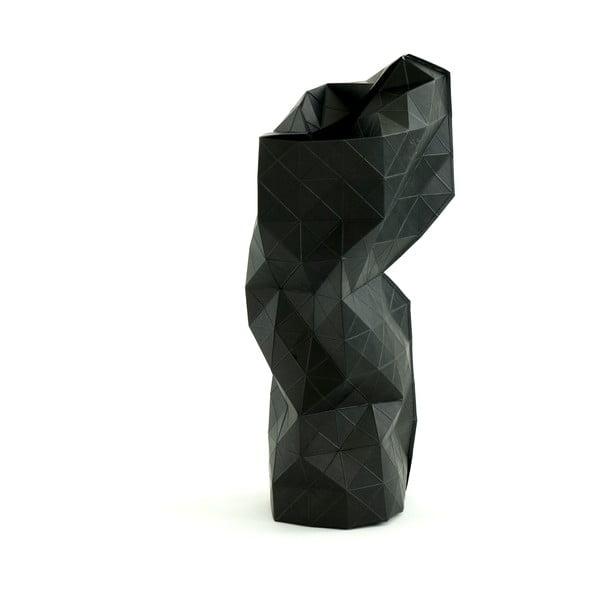 Papierowy wazon Black