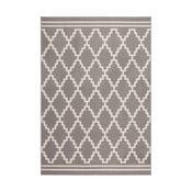 Brązowo-biały dywan Kayoom Sentosa Mons,80x150cm