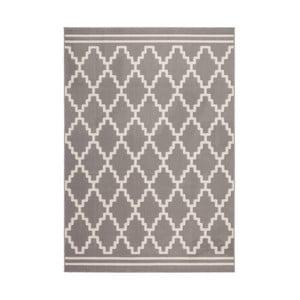 Brązowo-biały dywan Kayoom Sentosa Mons,80x300cm