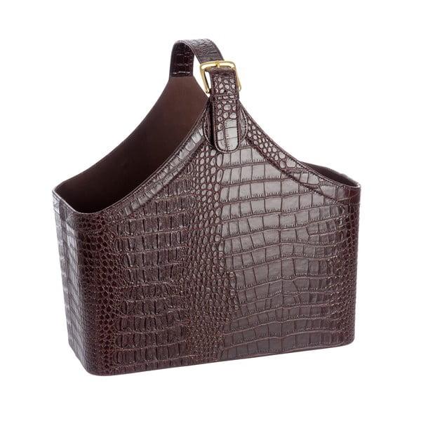 Stojak na czasopisma Croc Leather