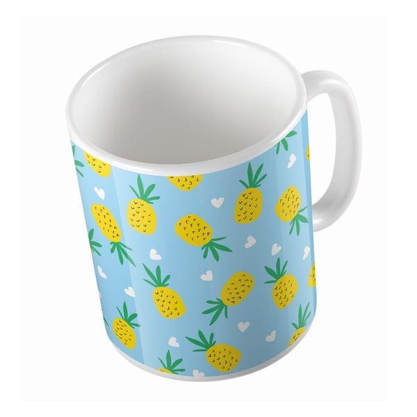 Kubek ceramiczny Pinneapple and Love, 330 ml