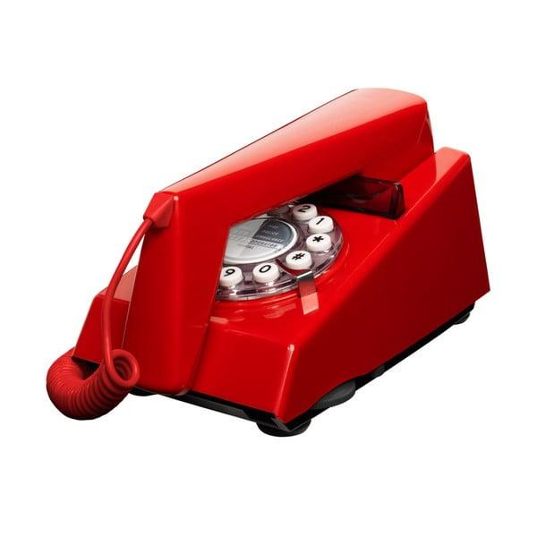 Telefon stacjonarny w stylu retro Trim Red