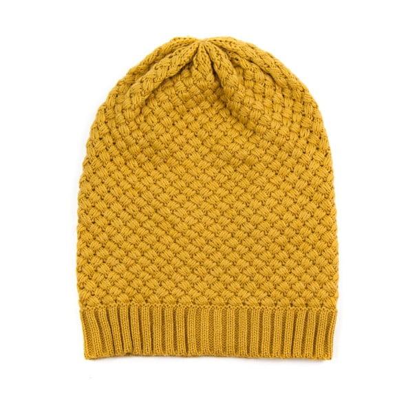 Czapka Beanie Yellow