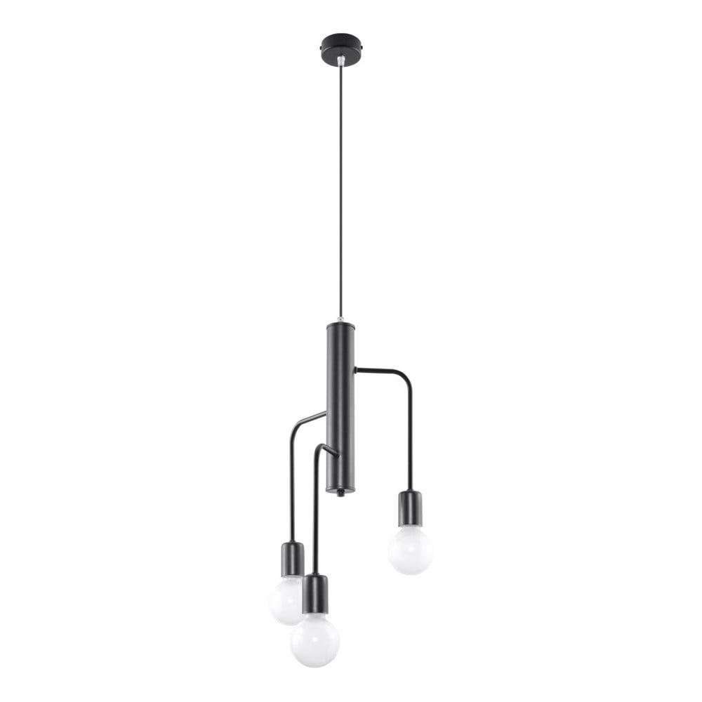 Czarna lampa wisząca Nice Lamps Donato 3M