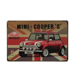 Tablica Mini Cooper, 20x30 cm