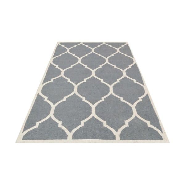 Dywan ręcznie wyszywany Lara Grey, 140x200 cm