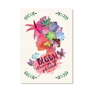 Plakat (projekt: Mia Charro) - Bloom