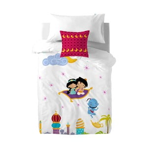 Bawełniana pościel dziecięca z poszewką na poduszkę Mr. Fox Aladdin, 140x200 cm