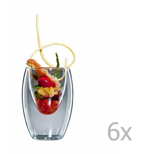 Zestaw 6   średnich szklanek bloomix Ovo